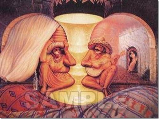 alegoria velho-jovem