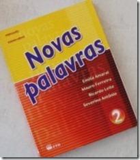 livro didatico portugues novas palavras